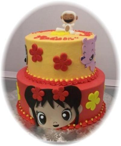 Birthday Cake Kai-Lan