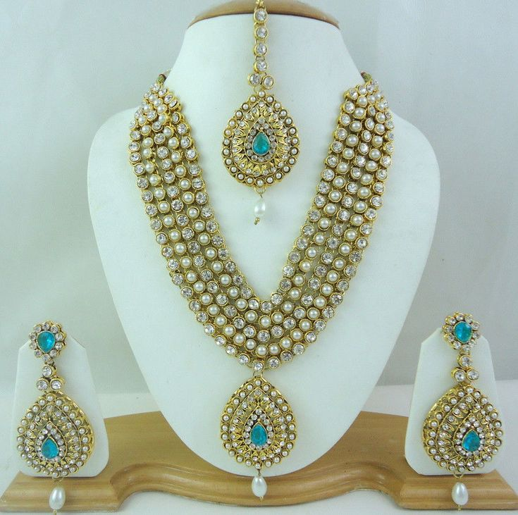 Indian Bridal Wedding Pearl Rani Haar Choker Necklace Sets: 1037 Best Images About Jewelry On Pinterest