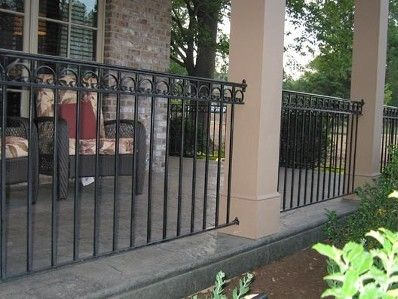 Decorative Wrought Iron Railing. Exterior Railings | Cleves, OH
