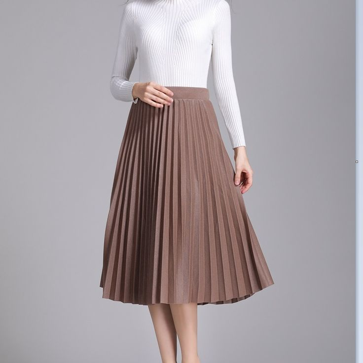 2017 Fashion Women's long pleated skirt Solid Color Velvet Pleated Skirt Promotions Lady Party Casual Skirts empire. Yesterday's price: US $66.60 (54.41 EUR). Today's price: US $18.65 (15.15 EUR). Discount: 72%.