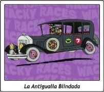 07 / La Antigualla Blindada / Mafio y sus Pandilleros / Los Metepata / The Bullerproof Bomb / The Ant Hill Mob / Clyde, Ring-A-Ding, Danny, Rug Bug, Benny, Mac, Kirby & Willy / Los Autos Locos / The Wacky Races / Hanna Barberá / Hanna Barbera
