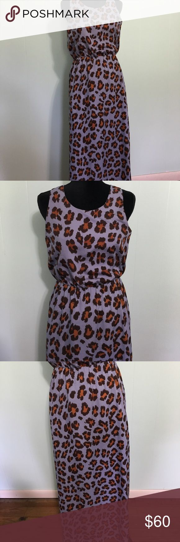 W118 by Walter Baker Leopard Maxi Dress Small This dress checks off every box of My favorite things.  Light and airy but not see through✅  racer back so I can wear a comfortable bra ✅ a different spin on leopard print ✅ slits so it's easy to move ✅ annnd a cinched in waist for flattery ✅.  It's perfect.  No flaws.  The lining goes to the knees.  From the knees each side has a slit. W118 by Walter Baker Dresses Maxi
