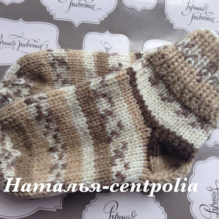 Купить Носочки детские, детские носки - комбинированный, носочки вязаные, носочки, носочки для девочки