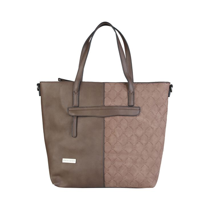 Pierre Cardin – MH53_515111 – Eco-leather shopping bag has two handles, zip fastening,detachable shoulder strap. Inside it, one internal zipped pocket and one inside pocket, external zipped pocket. It is of size: 40*31*15 cm.  https://fashiondose24.com