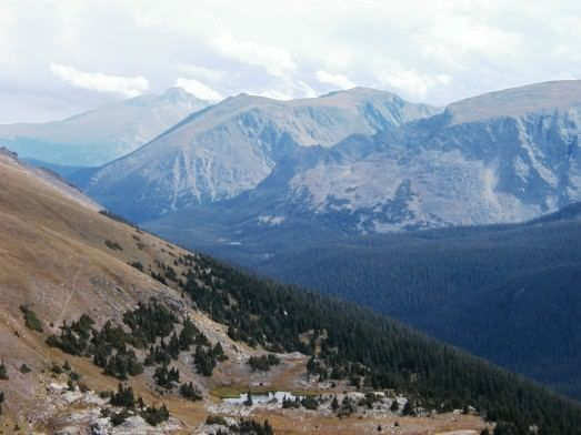 Ute Trail at Rocky Mountain National Park