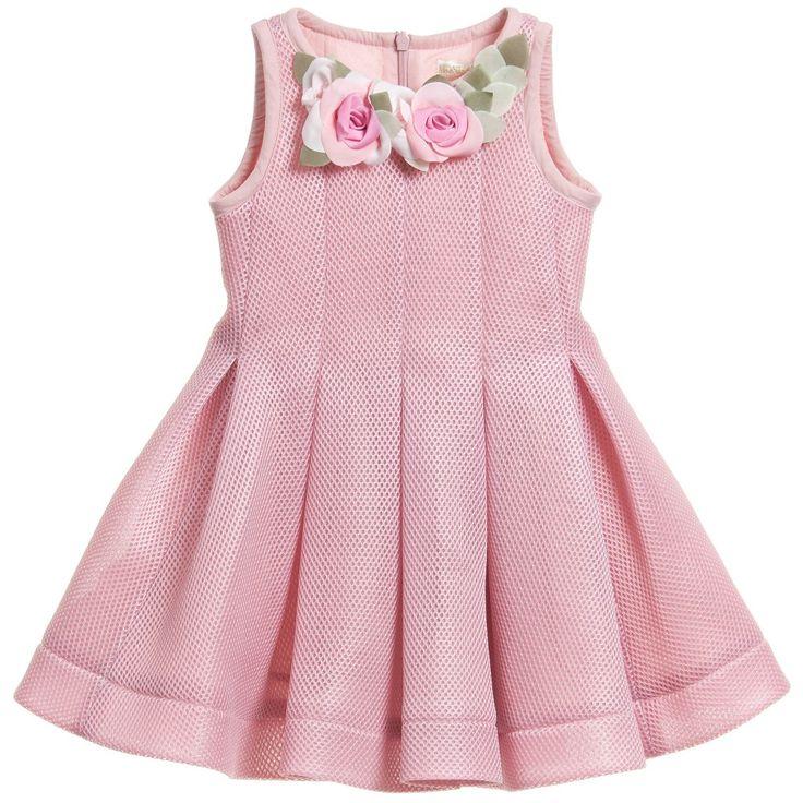 MONNALISA en www.tiendaspapos.com #summer #verano #marcas #brands #moda #fashion #cool #outfit #look #niña #girl #kids #children #monnalisa #dress #vestido