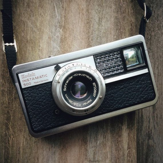 1964 Kodak Instamatic 500 #vintage #camera