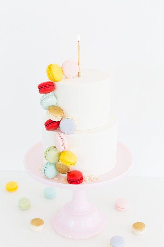 DIY Macaron Cake & Giveaway Week Details | Macaron Cake, Cloths and ...