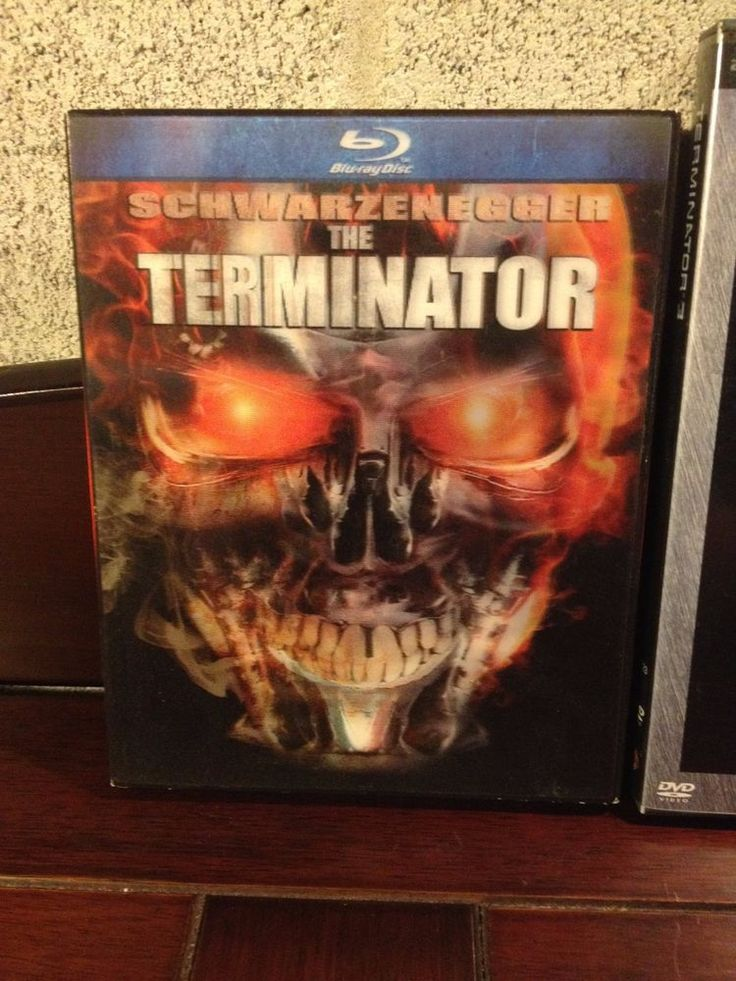 Terminator Blu Ray & Terminator 3 DVD Deal, Sci Fi, Action Adventure Arnold