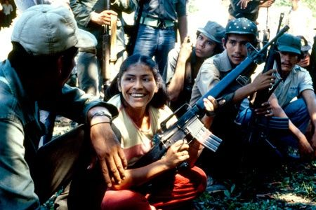 Las mujeres de la revolución FMLN guerrilleras during the Salvadoran Civil War (1979-1992)