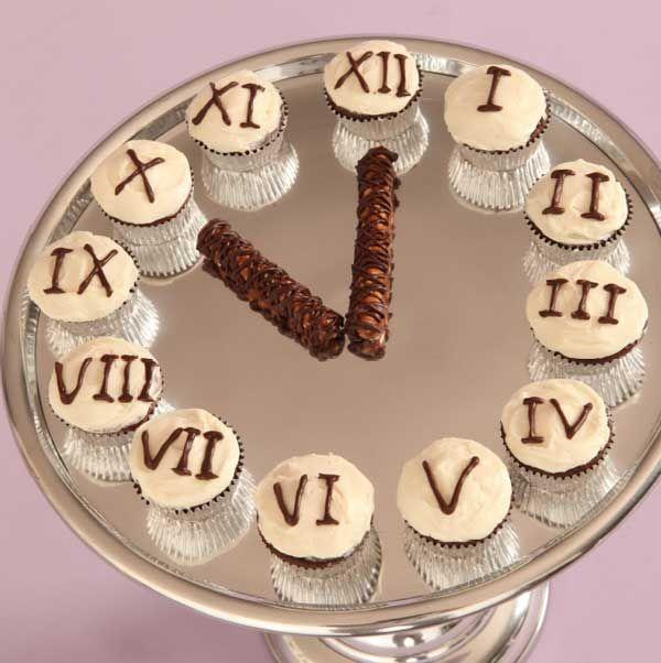New Year's Eve Cupcake Presentation | PartyBluPrints
