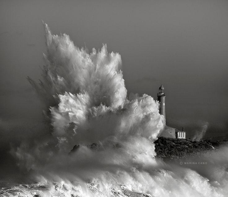Temporal en la isla de Mouro, Santander | Cantabria | Spain