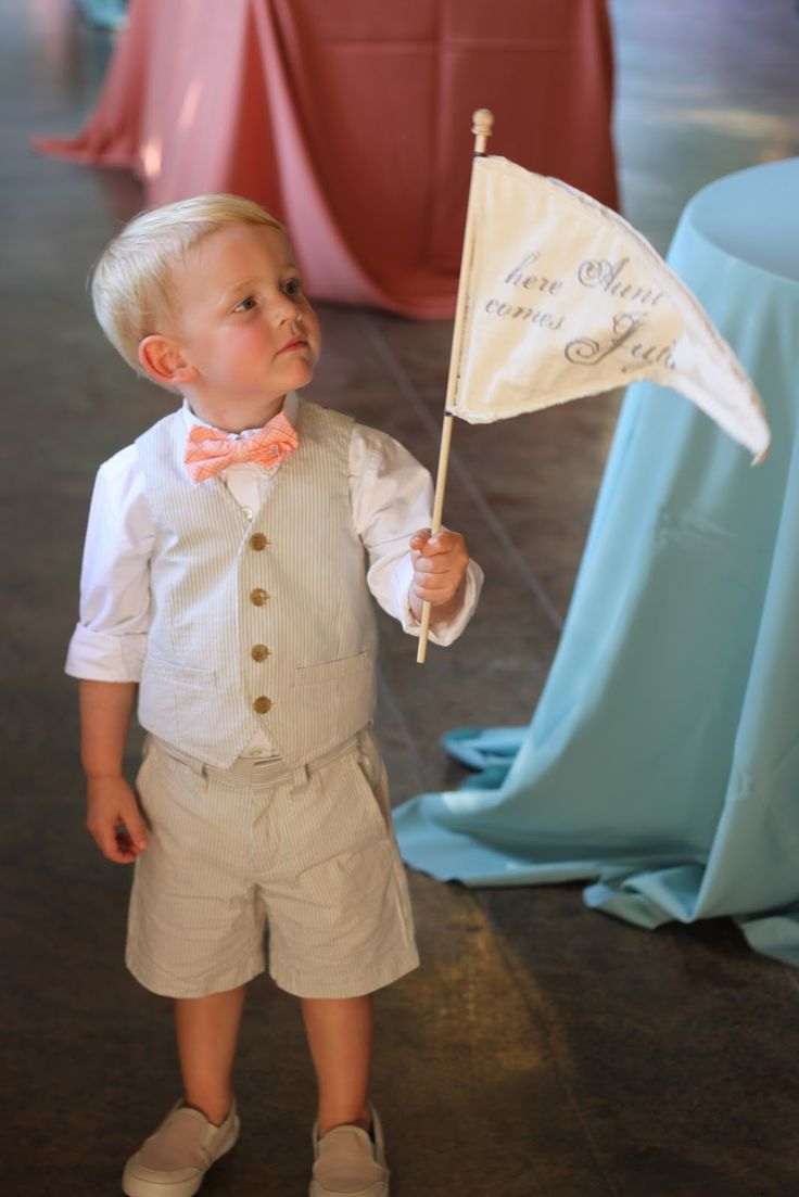 Love this ring bearer look! Details Weddings & Events: Julie & Johnny are Married!