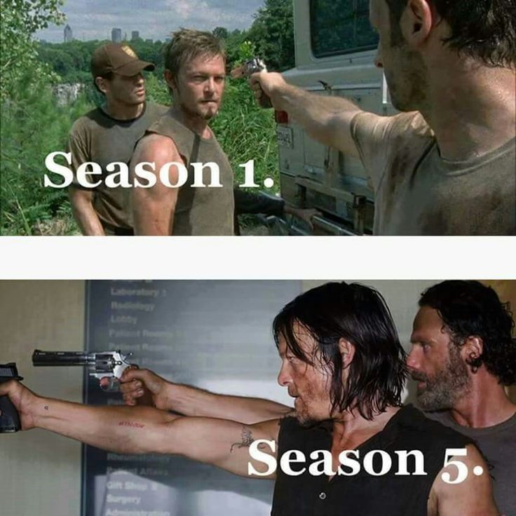Rick & Daryl #TWD