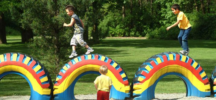 big tires Inspirational Crafty Tires kids playground