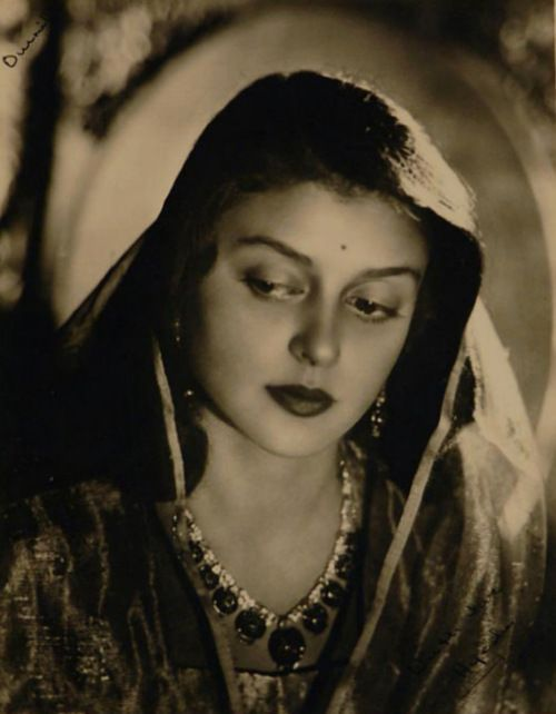 HH Maharani Gayatri Devi, Rajmata of Jaipur. She was daughter of Prince Jitendra Narayan and Indira Devi of Cooch behar. She was celebrated for her classical beauty was counted in 'The Ten Most Beautiful Women of the World' along with actress Leela Naidu by Vogue Magazine. She ran for Parliament in 1962 and won the constituency in the world's largest landslide victory. She died on 29 July 2009 in Jaipur.
