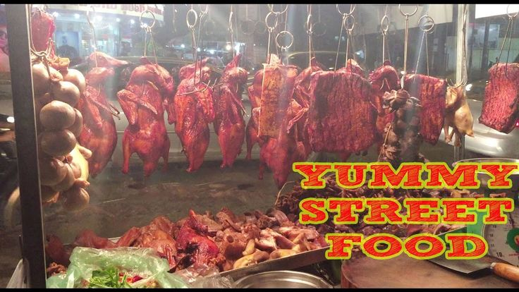 Asian Street Food | Cambodian Food-roasted duck,pig,fried bread,Giao,frog,rice cake,prawn(part 25)