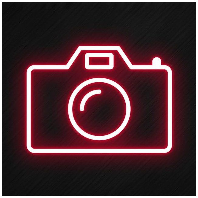 Camera Icon In Neon Style Camera Camera Icons Style Icons Png Transparent Clipart Image And Psd File For Free D In 2021 Camera Icon Graphic Resources Clipart Images