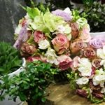 September Country Wedding Flowers