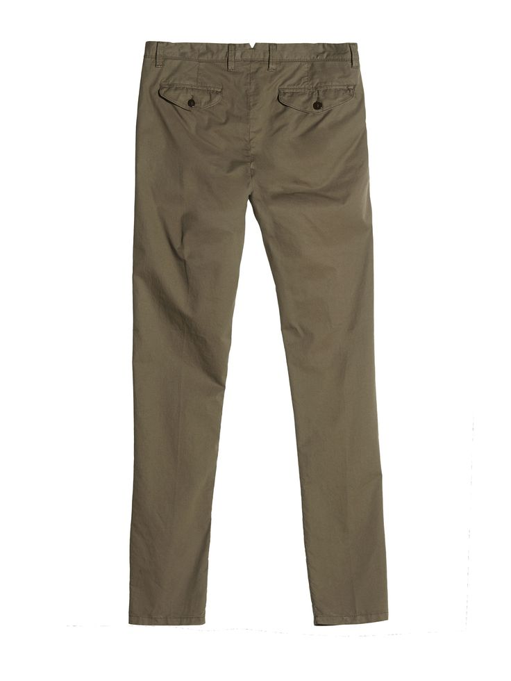 C.P. Company Garment Dyed Gaberdine Trousers in Green