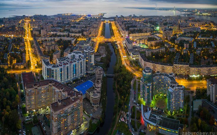 35PHOTO - Станислав Забурдаев - Осенний Петербург с квадрокоптера