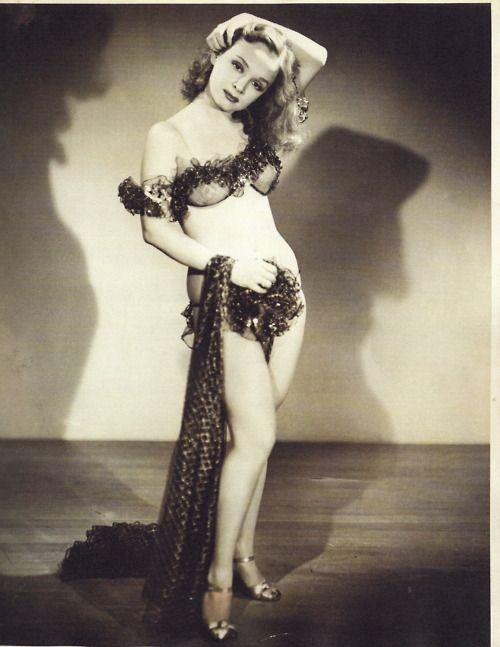 "Betty Rowland   aka. ""The Red-Headed Ball Of Fire""."