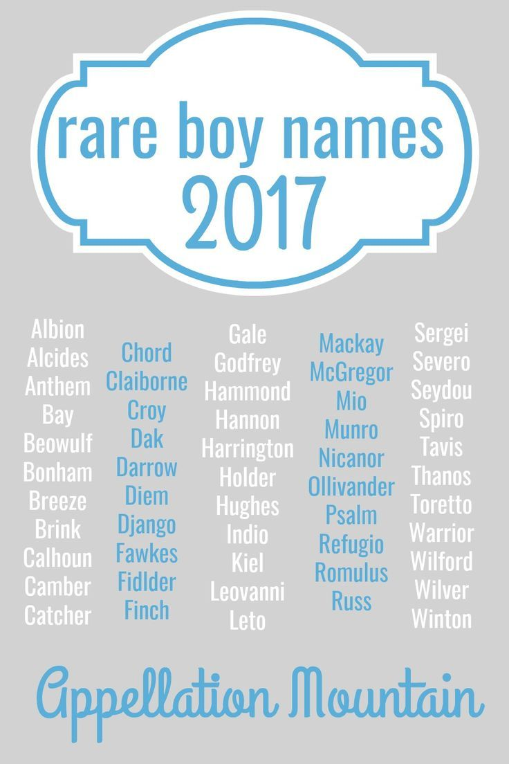 rare boy names 2017 the great eights unique baby boy and girl