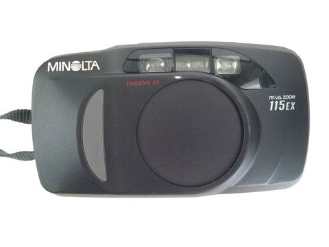 Minolta 115 EX With Carry Bag – Junkie Charity Store