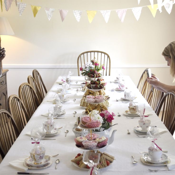 Vintage Afternoon Tea Party, Hen Party