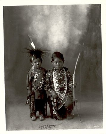 Sac & Fox boys - 1898