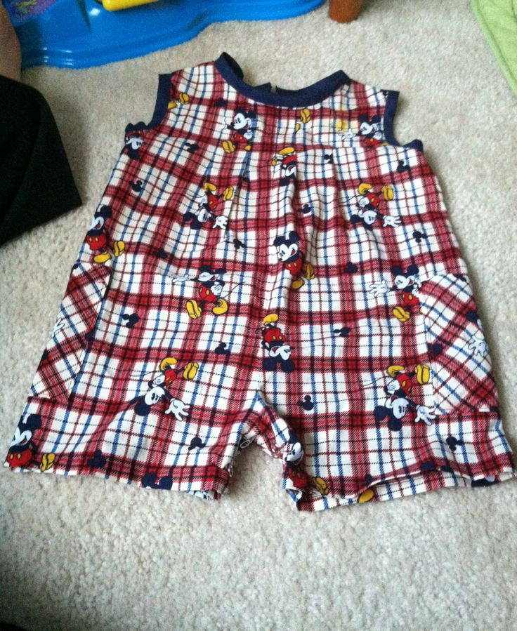 Mickey outfit made for my son for our Disney trip #CreationCorner