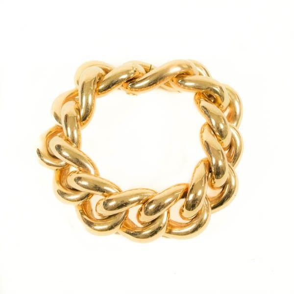 1315A Gouden gourmet armband   Lyppens juwelier