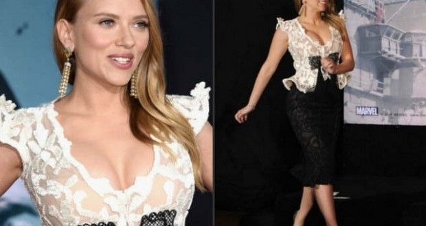Scarlett Johansson a very hot mom : The actress made her first public appearance since she announced the news that she is pregnant. It was her first red carp