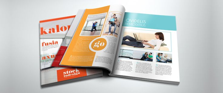 InDesign :: From the Stock InDesign website — Magazine Templates.