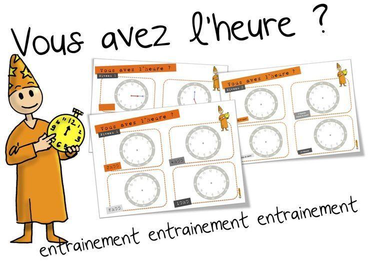 Telling Time in French: pour pratiquer l'heure - Quelle heure est-il?