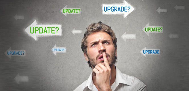 Er zijn steeds nieuwe #updates en ook #upgrades in @Joomla!. Wat is het verschil? En waarom zou je dit doen?