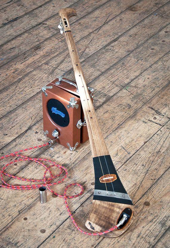 DaShtick Guitars 2-string Aul boy diddley bow stick