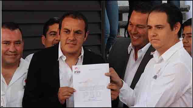 Juez ordena destituir a Cuauhtémoc Blanco como alcalde de Cuernavaca