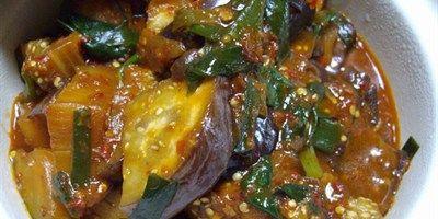 Spicy Egg Plants or Brinjals