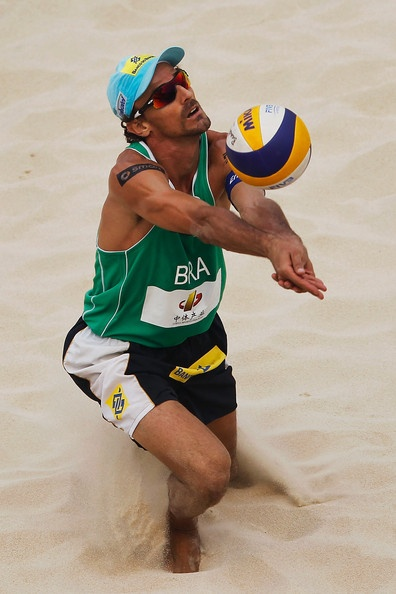 Emanuel Rego in FIVB Beach Volleyball Beijing Grand Slam - Day 4