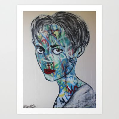 Megan, 2014 Art Print by Adam Craemer - $19.90