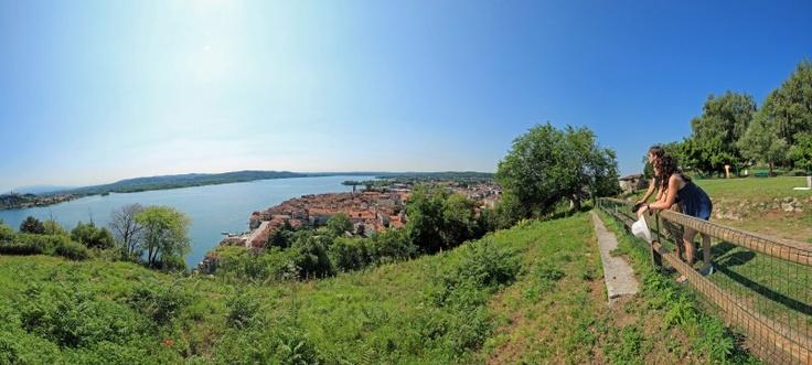 Una splendida vista dalla Rocca Borromea di Arona!