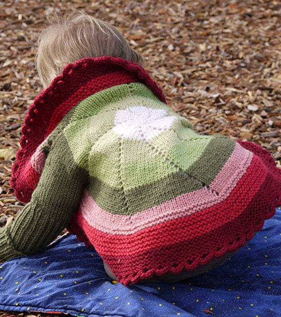 Ravelry: Pinwheel Sweater (Child) by Shelley Mackie