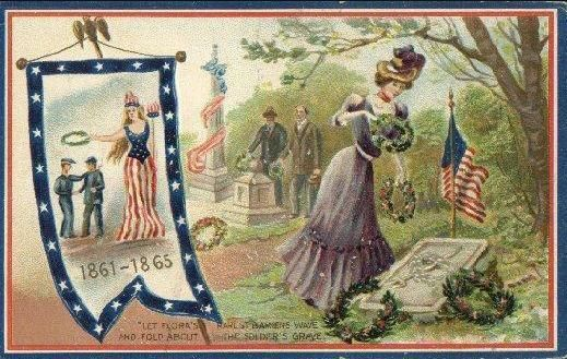 free vintage memorial day clip art