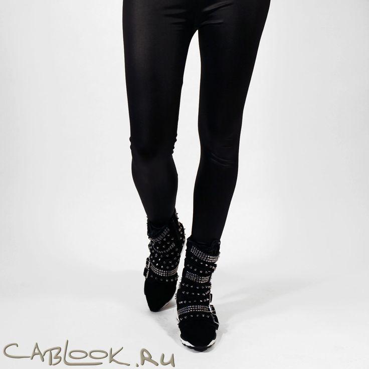 Высокие кроссовки на танкетке c ремешками Jeffrey Campbell Chaser в магазине дизайнерской обуви CabLOOK.ru