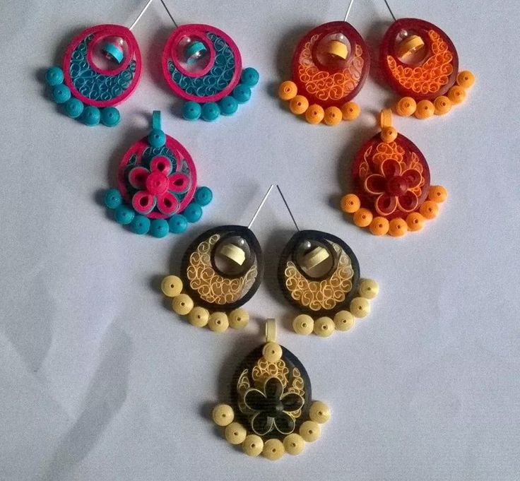 Quilling Papers Earrings: 1884 Best Paper Jewellery Images On Pinterest