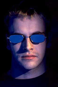 Jonny Lee Miller in Hackers.