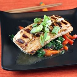 Grilled mahi mahi with a zesty Thai sauce: Work, Pinterest Cookbook, Delicious Dinners, Wave Sauces, Zesty Thai, Grilled Work