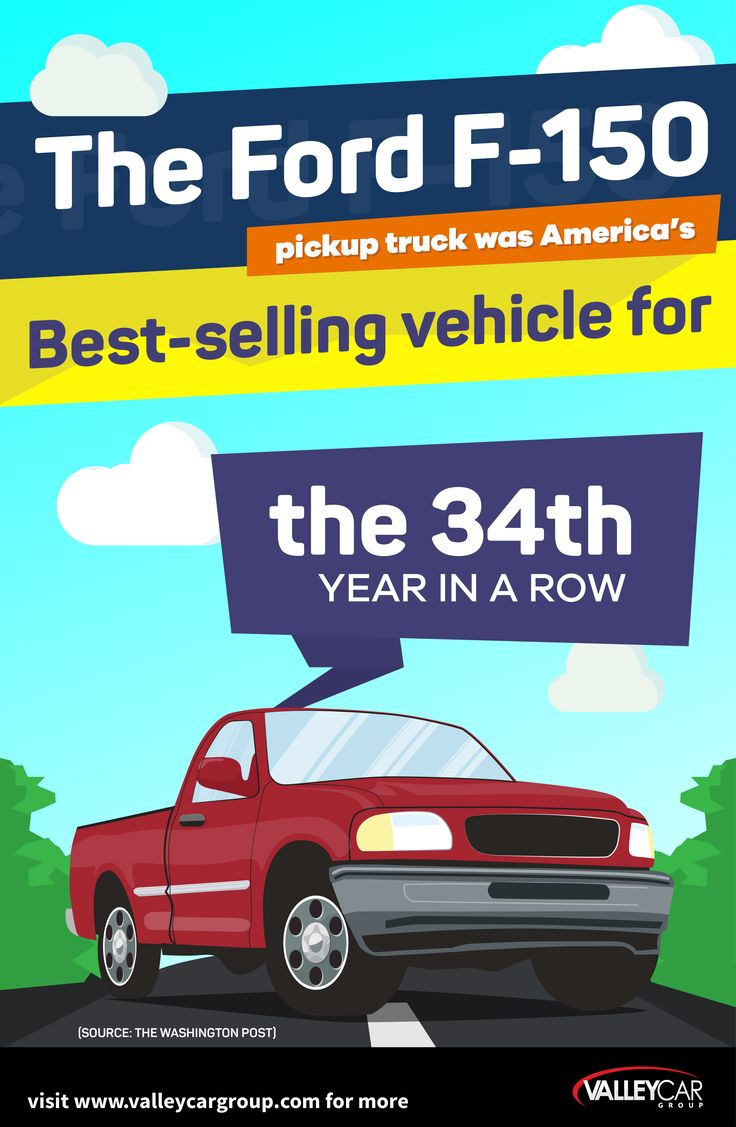 For the 34th consecutive year this is america s best selling vehicle visit www