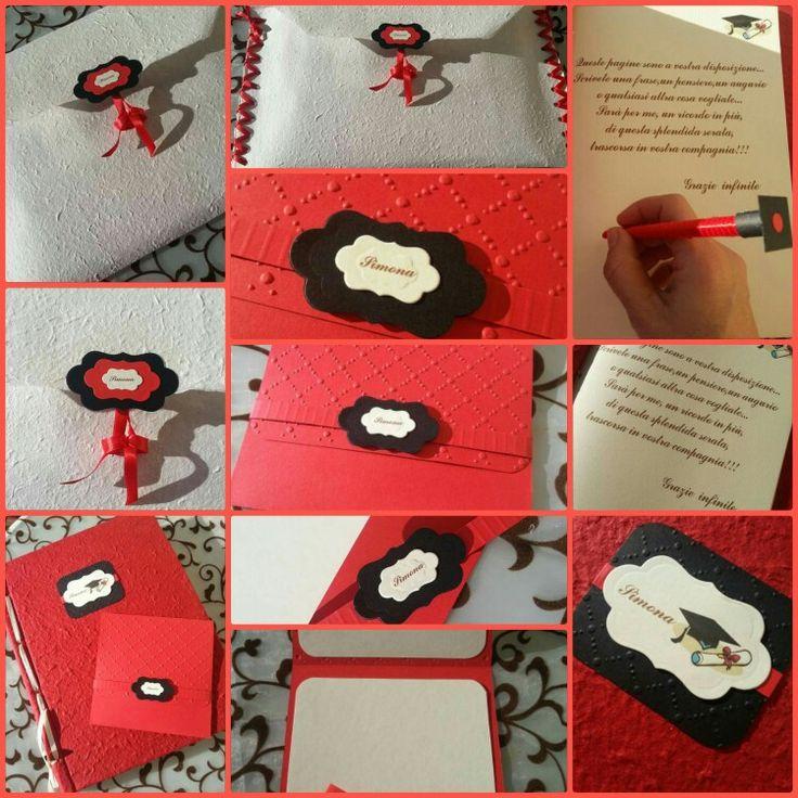 Guestbook Laurea e Congratulation Card